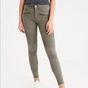 ❤️[3/$35] AMERICAN EAGLE Moto Skinny Jeans